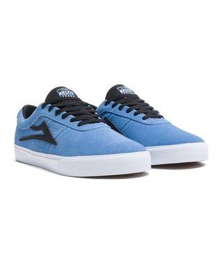 Sheffield Simon Skate Shoes - Light Blue/Black Suede