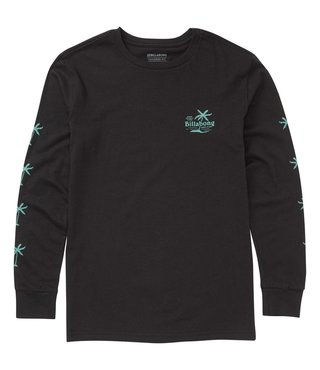 Boys' Surf Club Long Sleeve Tee - Black