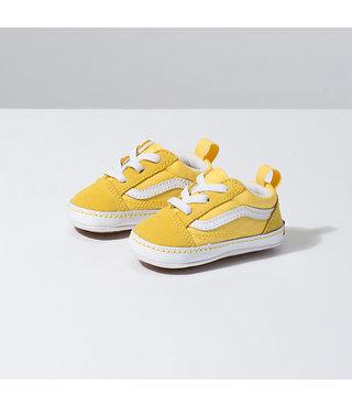 Infant Old Skool Crib Shoes - Aspen Gold/True White