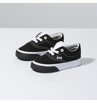 VANS FOOTWEAR Toddler Color Block Era Shoes - Black/True White