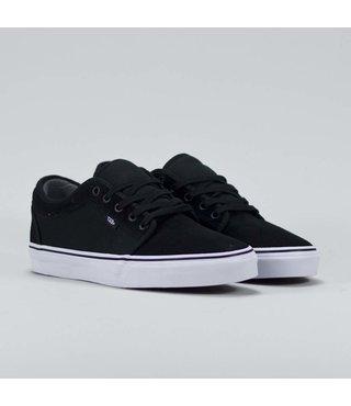Chukka Low Men's Suede Skate Shoes - Black/True White