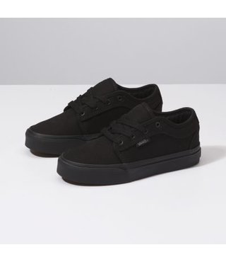 Chukka Low Youth Skate Shoes - Blackout