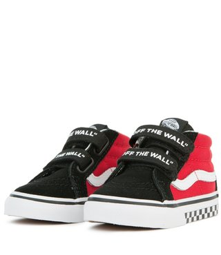Toddler's Sk8-Mid Reissue Velcro Shoe - Logo Pop