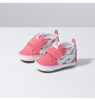 VANS FOOTWEAR Infant Sk8-Hi Crib Shoe - Unicorn