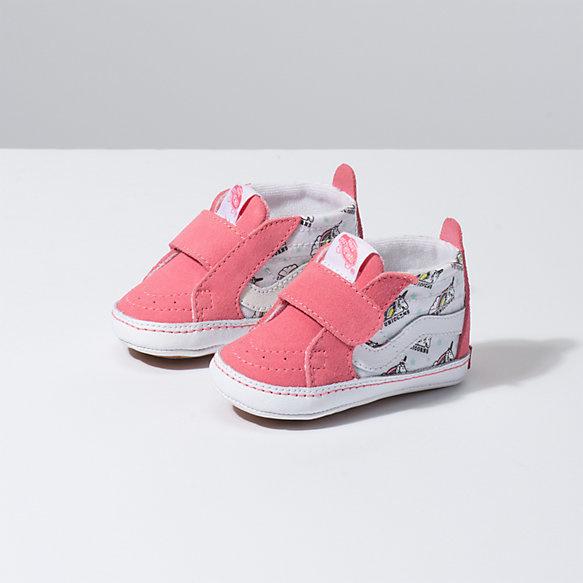 4d59b625d85104 VANS FOOTWEAR Infant Sk8-Hi Crib Shoe - Unicorn. Press tab to enlarge