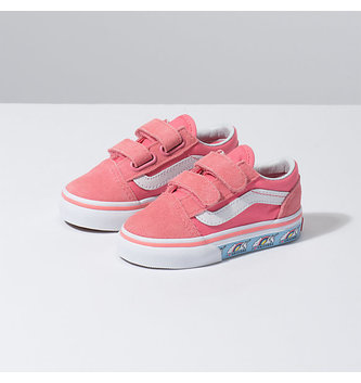 VANS FOOTWEAR Toddler's Old Skool Velcro Shoe - Unicorn