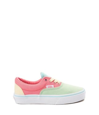 Kids Color Block Era Skate Shoes - Strawberry Pink/True White