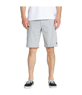 Crossfire X Slub Submersibles Shorts - Silver