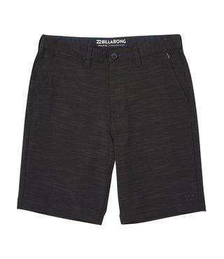 Crossfire X Slub Submersibles Shorts - Black