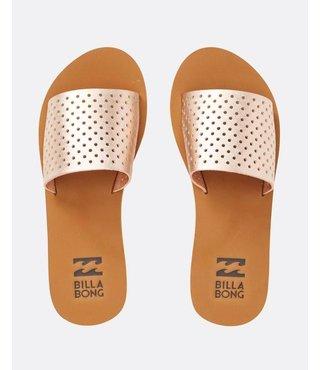 One Way Slide Sandal - Rose Gold