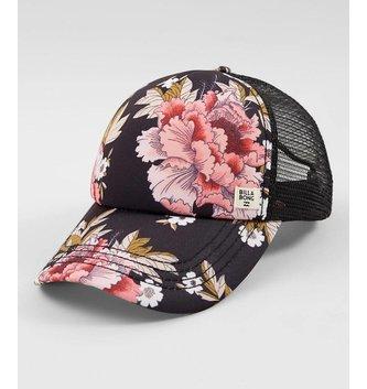BILLABONG Heritage Mashup Trucker Hat - Rose Quartz