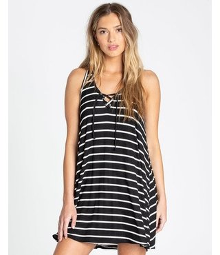 Easy Dreamin Tank Dress - Black