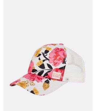 Girls' Shenanigans Trucker Hat - Tahiti Pink