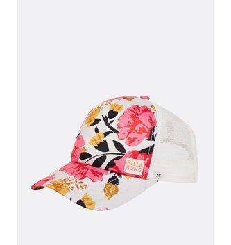 BILLABONG Girls' Shenanigans Trucker Hat - Tahiti Pink
