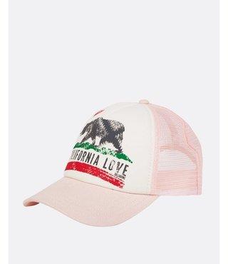 Girls' Pitstop Trucker Hat - Pink Lily