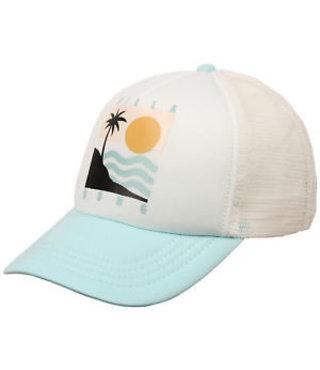 Girls' Ohana Trucker Hat - White/Multi