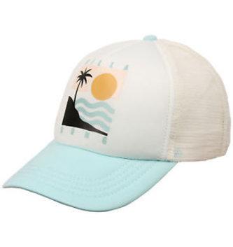 BILLABONG Girls' Ohana Trucker Hat - White/Multi