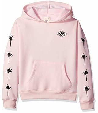 Girls' Stay Wild Hoodie - Pink Lily