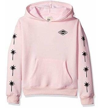 BILLABONG Girls' Stay Wild Hoodie - Pink Lily