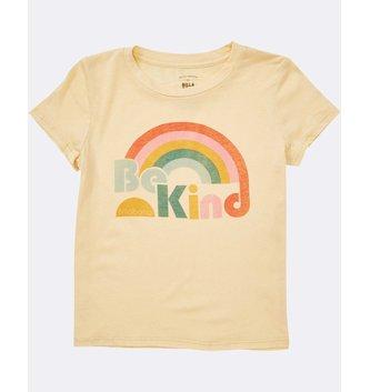 BILLABONG Girls' Kind Rainbow Tee - Yellow Fade