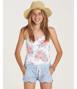 Girls' Mad For You Short - Beach Glass