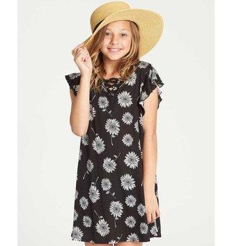 BILLABONG Girls' Dreamin Daiseys Dress  - Black