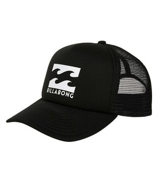 Boys' Podium Trucker Hat - Black/White