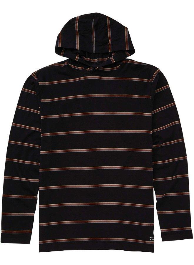 Boys' Die Cut Pullover Hoodie - Black