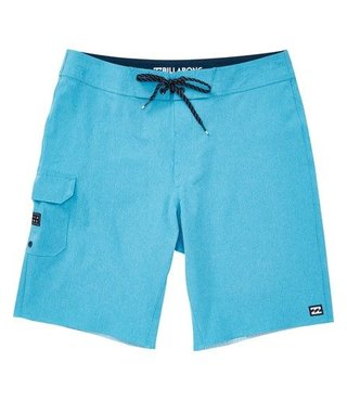 Boys' All Day Pro Boardshorts - Coastal Blue Heather