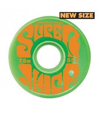 55mm Mini Super Juice Green 78a OJs Skateboard Wheels