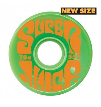 OJ Wheels 55mm Mini Super Juice Green 78a OJs Skateboard Wheels