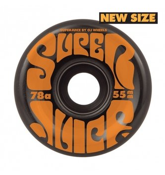 OJ Wheels 55mm Mini Super Juice Black 78a OJs Skateboard Wheels