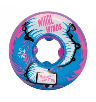 Ricta Wheels 54mm Whirlwinds Blue/Pink 99a Ricta Skateboard Wheels