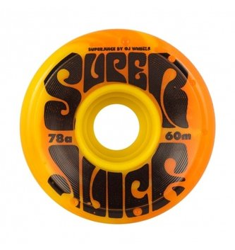 OJ Wheels 60mm Super Juice Yellow/Orange 78a OJs Skateboard Wheels