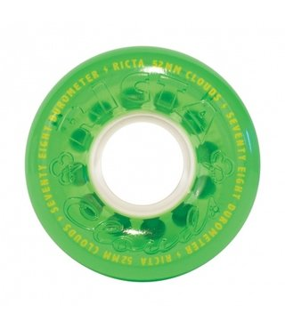 52mm Crystal Clouds Green 78a Ricta Skateboard Wheels