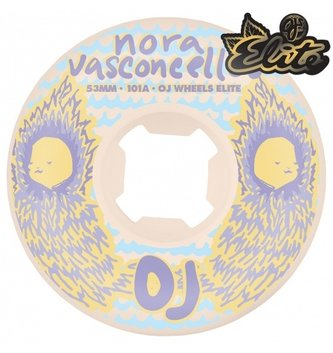 OJ Wheels 53mm Vasconcellos Waves Elite EZ Edge 101a OJs Skateboard Wheels