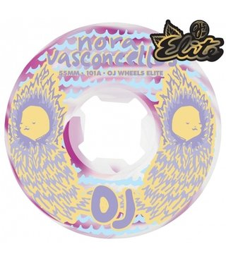 55mm Vasconcellos Waves Elite EZ Edge 101A OJs Skateboard Wheels