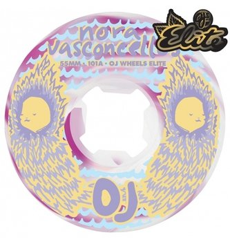 OJ Wheels 55mm Vasconcellos Waves Elite EZ Edge 101A OJs Skateboard Wheels
