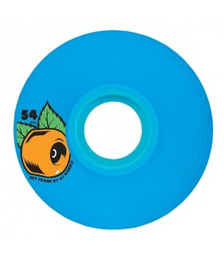 54mm Keyframe Blue 87a OJs Skateboard Wheels