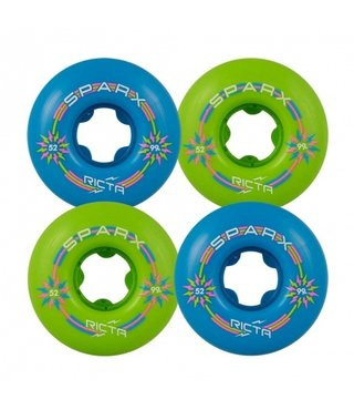 52mm Sparx Mix Up 99a Ricta Skateboard Wheels