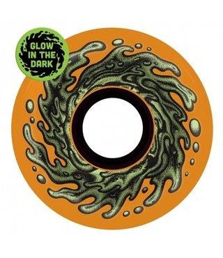 60mm OG Slime Orange Glow 78a Slime Balls Skateboard Wheels