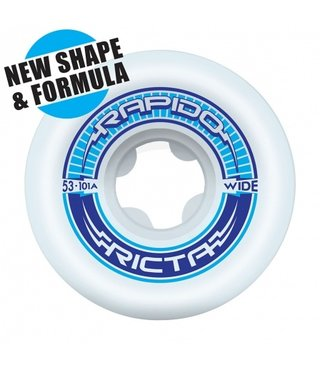 53mm Rapido Wide 101a Ricta Skateboard Wheels