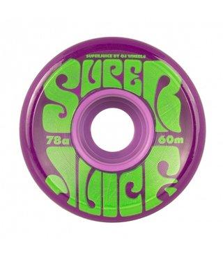 60mm Super Juice Purple 78a OJs Skateboard Wheels