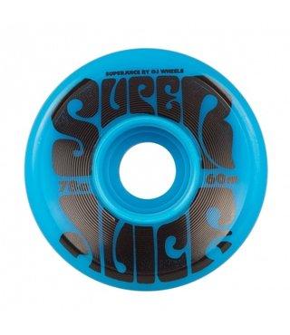 60mm Super Juice Blue 78a OJs Skateboard Wheels