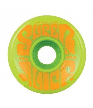 60mm Super Juice Green 78a OJs Skateboard Wheels
