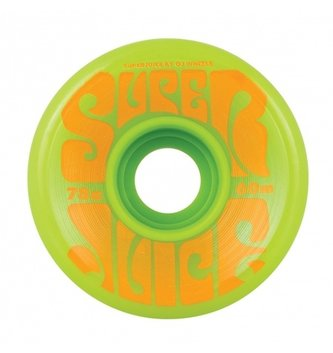 OJ Wheels 60mm Super Juice Green 78a OJs Skateboard Wheels