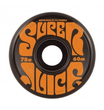 OJ Wheels 60mm Super Juice Black 78a OJs Skateboard Wheels