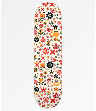 "8.25"" Thank You Flower Power Pudwill Skateboard Deck"