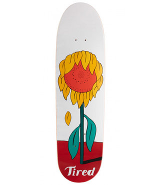 "8.75"" Tired Sunflower Mark on Deal Skateboard Deck"