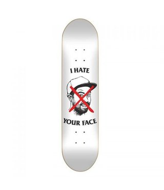 "8.25"" S.Mental Staba I Hate Your Face Skateboard Deck"
